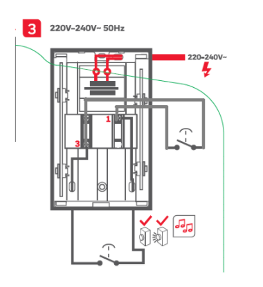 Where can I find the wiring diagram of a D3230 Big Ben