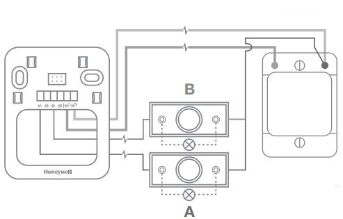 How can I wire my Honeywell Home DW915SG doorbell?